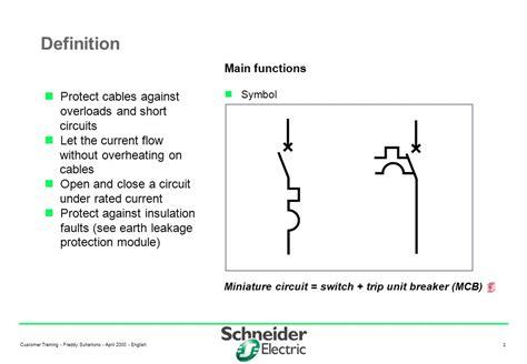 mcb circuit diagram symbol circuit and schematics diagram