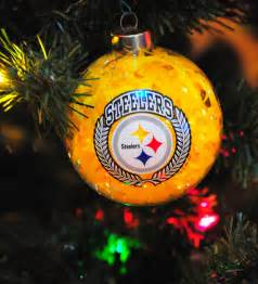 2010 pittsburgh steelers tree ornament flickr photo