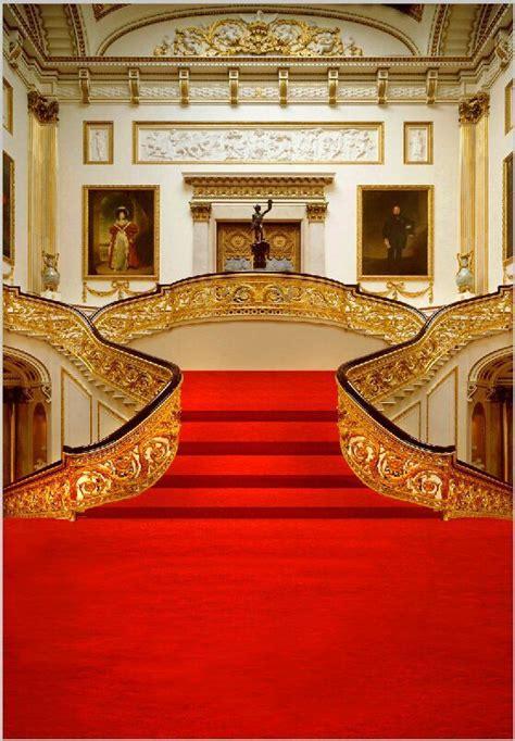 xft vintage gold court grand entrance red carpet steps
