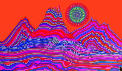 Psychedelic Trippy Illustration Google Gifs Animated Painting
