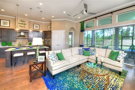 fully furnished  decorated model homes