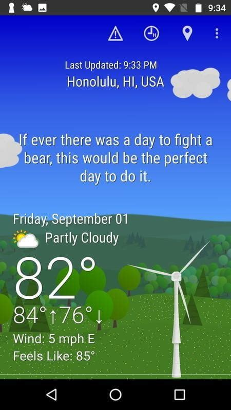 forecast digitaltrends android