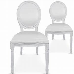 Chaise Medaillon Blanche : location chaise m daillon blanche ~ Teatrodelosmanantiales.com Idées de Décoration