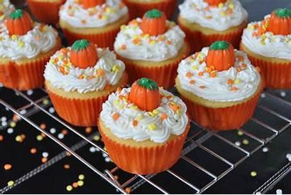 Cupcakes Halloween Cupcake Pumpkin Recipes Candy Easy