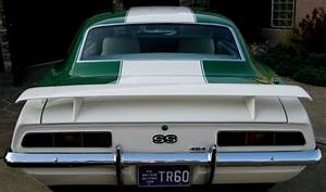 Chevrolet Camaro Coupe 1969 Rallly Green With White