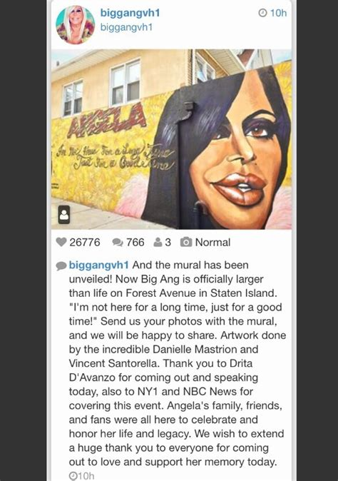 big ang mural staten island the big ang mural unveiling in staten island the show