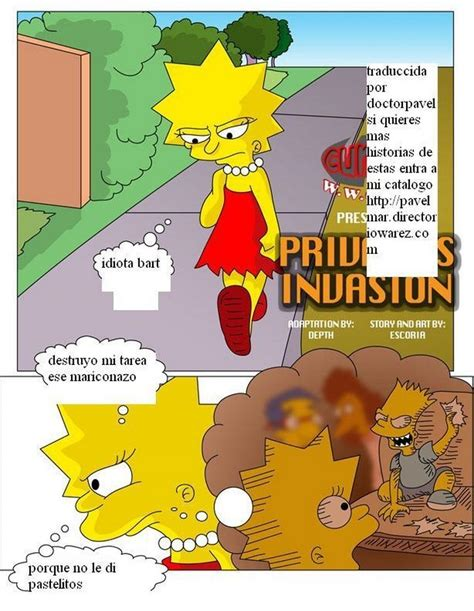 Privacys Invasion Simpsons