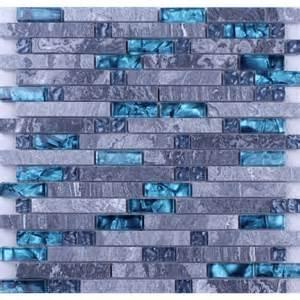 kitchen backsplash peel and stick tiles grey marble blue glass mosaic tiles backsplash