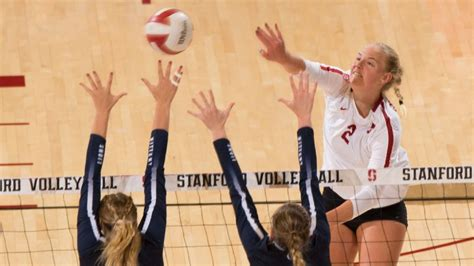 ncaa volleyball player   year  stanford