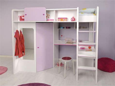 lit mezzanine avec bureau et armoire integres lit mezzanine bureau armoire clasf