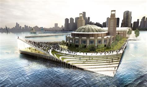 Big Architects + Aecom Chicago Navy Pier Proposal