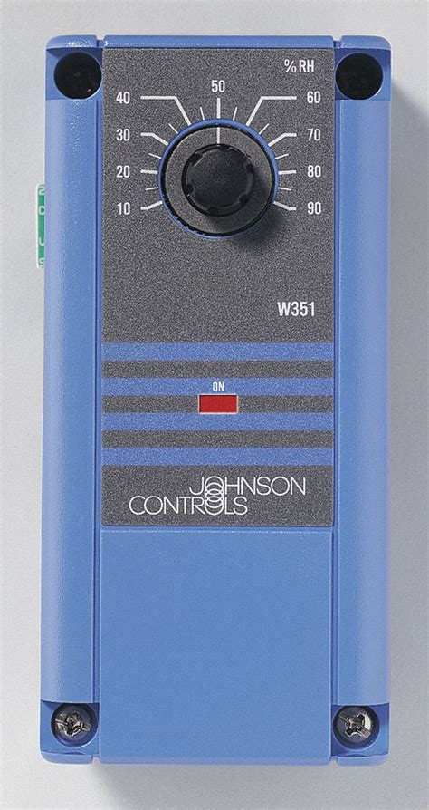 johnson controls humidity control electric onoff