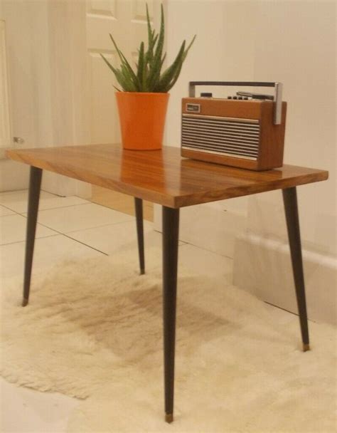 ✅ free delivery and free returns on ebay plus items! Small Mid Century Retro 1960's Coffee Table with Dansette Legs Vintage Danish 60's / 70's G Plan ...
