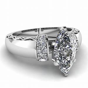 marquise shaped diamond engagement rings with white With marquise diamond wedding ring