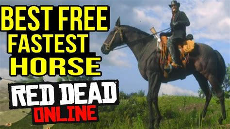 rdr2 horse dead location fastest