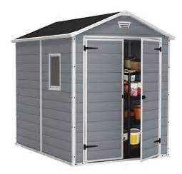 keter manor large 4 x 6 ft resin outdoor backyard garden storage shed compare lowest prices