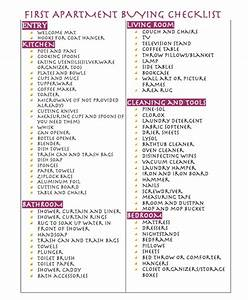 First apartment buying checklist apartamento pinterest for 1st apartment checklist