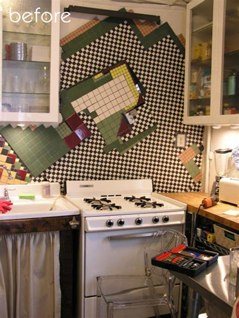 before & after: pegboard kitchen makeover   studio redo