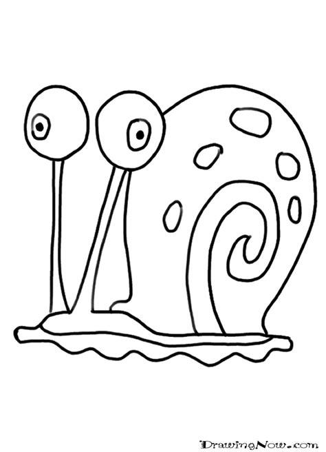 drawn snail simple pencil   color drawn snail simple