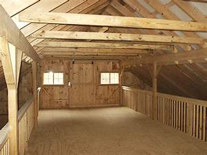 Center Aisle Hay Loft Design