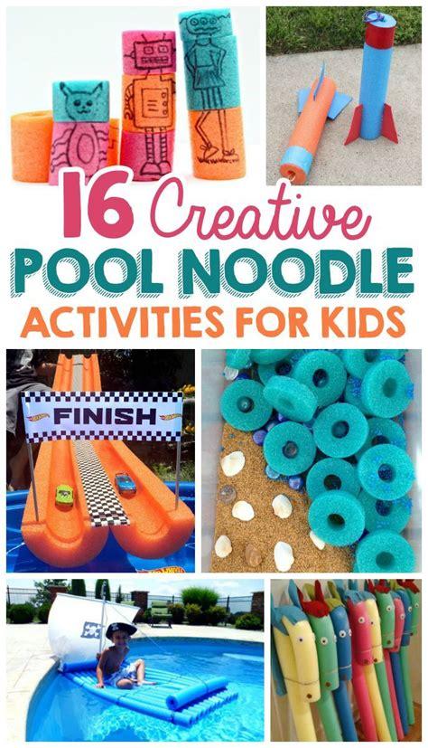 creative pool noodle activities  kids craft