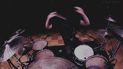 Drums Animated Gifs Cartoon Drum Playing Percussion