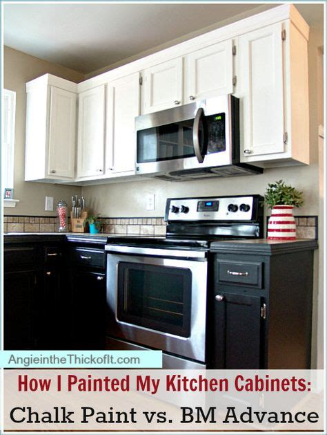 chalk paint techniques for cabinets how i painted my kitchen cabinets chalk paint latex and