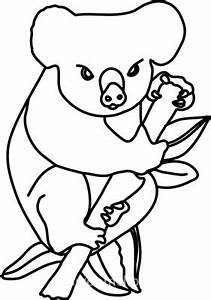 Koala Outline - ClipArt Best