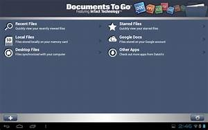 Descargar office para tablet android for Documents to go manual