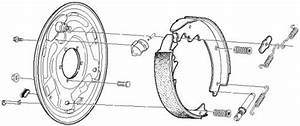 Dexter Hydraulic Drum Brake Assembly - Free Backing