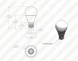 A21 Light Bulb Dimensions A21 Led Bulb 60 Watt Equivalent 24 Vdc 800 Lumens