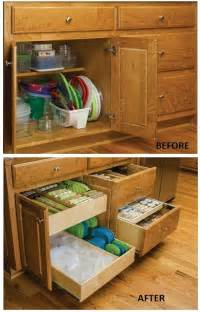 kitchen cupboard organizers ideas remodelaholic convenient and space saving cabinet organizing ideas