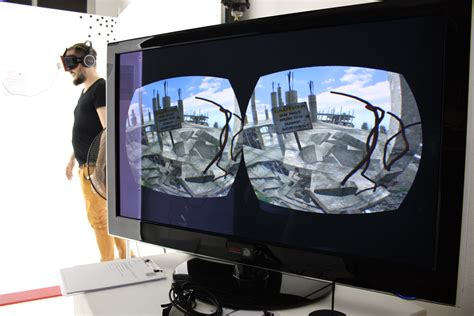 Future Of 3d Oculus Rift Vertigo Experience  Inition London