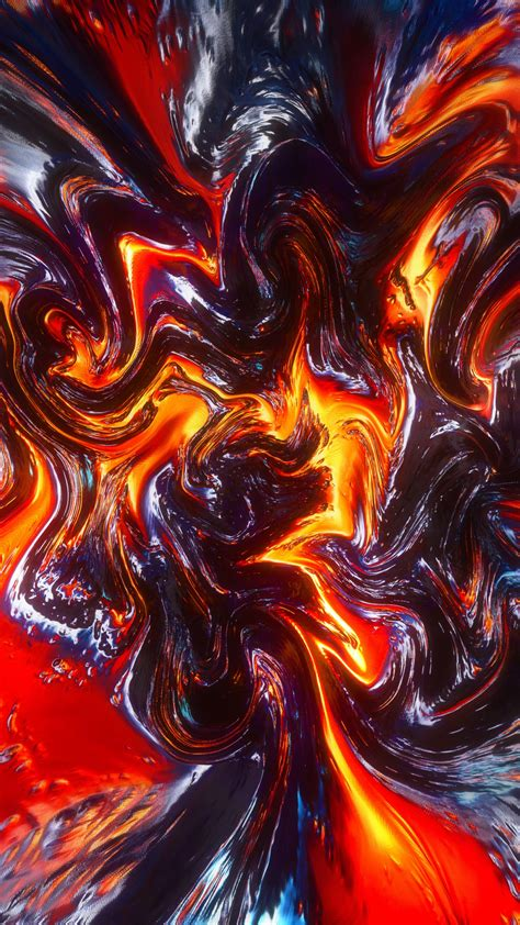 wallpaper lava surface  fire hd abstract