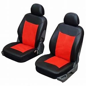 housse siege auto pour sieges avants en simili cuir rouge With tapis rouge avec housse de canapé imitation cuir
