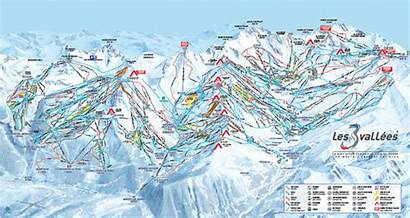 Tania Snow Ski Maps