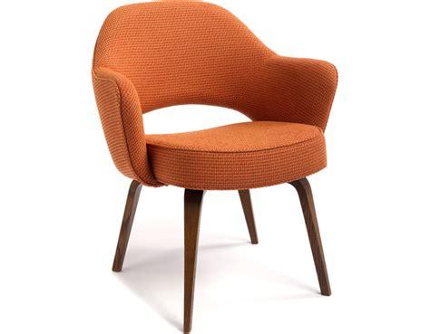 Eero Saarinen Executive Armchair by Saarinen Executive Arm Chair With Wood Legs Hivemodern