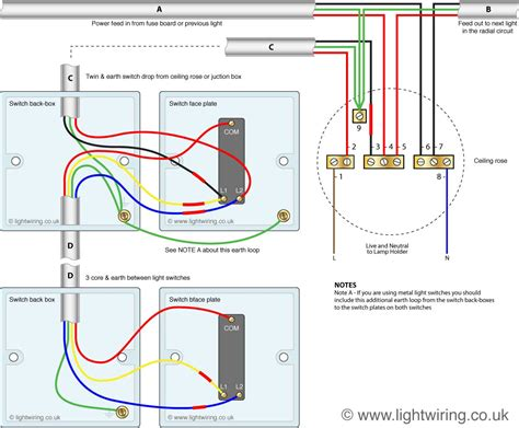 Way Switch Wire System Old Cable Colours Light Wiring