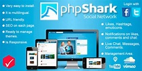 phpShark Social Networking Platform