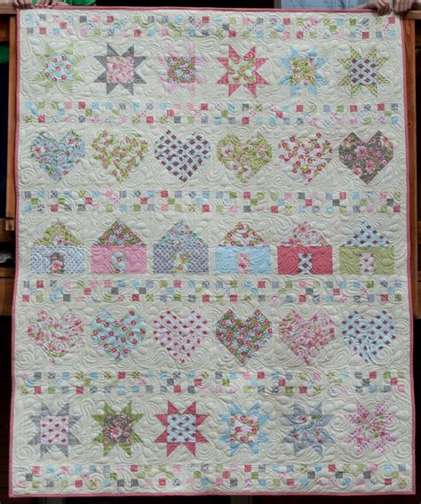 free quilting designs all in a row free quilt pattern favequilts