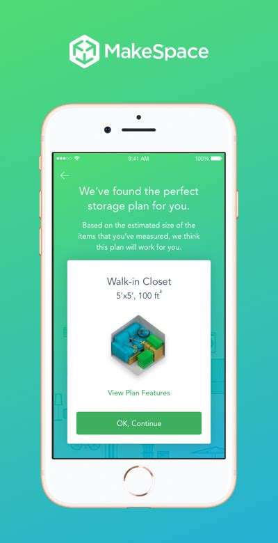 Make Space by New Makespace Ios App Measure Your Stuff Get A Storage