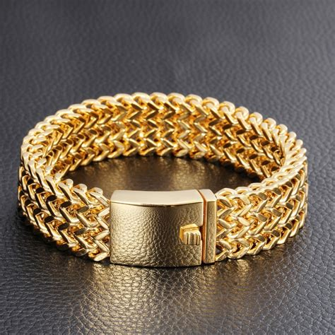 aliexpress buy real brand italina rings for men hot mens solid gold bracelets yourforgiven355 org