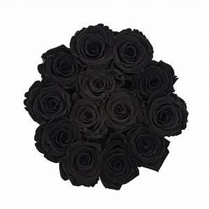 Ewige Rosen Box : schwarze ewige rosen in roter beflockter rosenbox ewige rosen rosen produkte online ~ Eleganceandgraceweddings.com Haus und Dekorationen