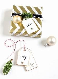 Cadeau Noel Original : deco de fete noel emballage cadeau original noel debi ~ Melissatoandfro.com Idées de Décoration