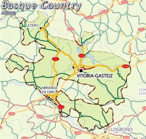cuisine aragon map of alava map for planning your in alava alava