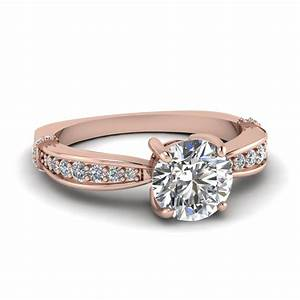 Rose Gold Engagement Rings Rose Gold Engagement Rings