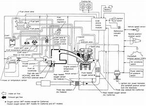 Complete Diagram Of An Engine Of A Nissan Pickup Truck 1994