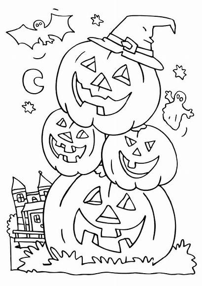 Coloring Halloween Pages Teens Cool Printable Adult