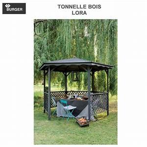 tonnelle de jardin bois lora 0700012 burger With tonnelle en bois pour jardin