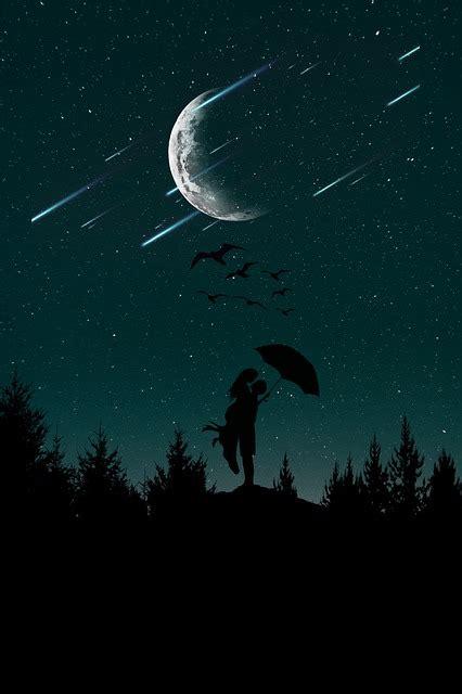 night love sky  photo  pixabay